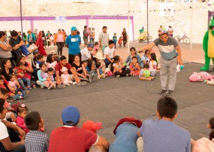 Realización de Feria lúdica para las comunidades de Jicamarca y Pachacútec por el VI Aniversario del Programa CIB