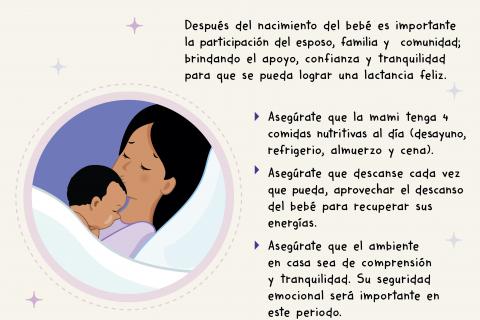 Nutrición de la madre niña y niño