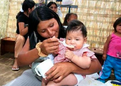 Alimentación balanceada en menores de seis meses