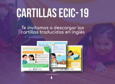 Materiales informativos de la Encuesta ECIC-19 serán difundidas a nivel internacional